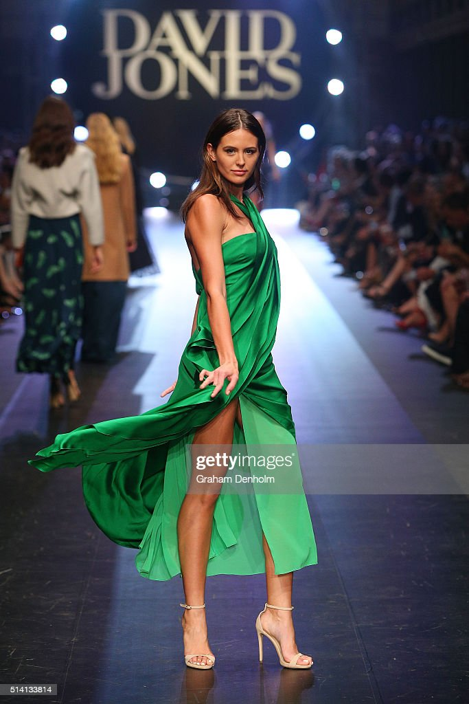 David Jones Opens Melbourne Fashion Festival 2016 - Runway