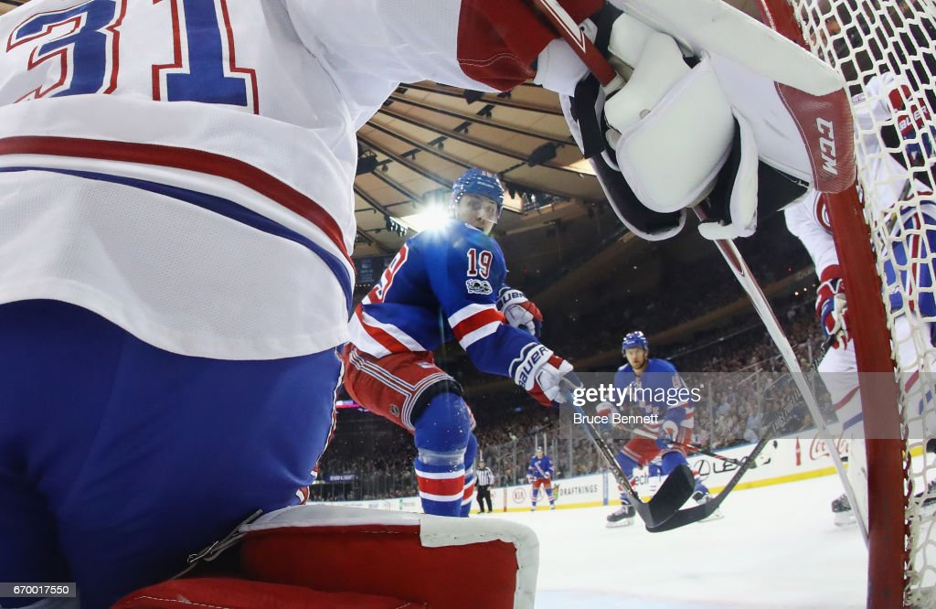 2014 KK Jesper Fast 19 of the New York Rangers scores in the first period  against Carey ... 33f3471a0