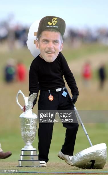 A Jesper Parnevik fan during the final round