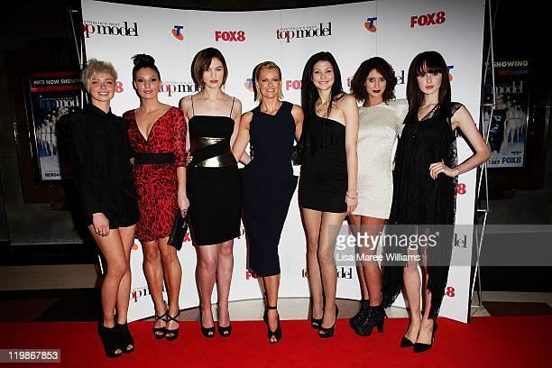 Jess Bush Yolanda Hodgson Rachel Riddel Sarah Murdoch Cassie PhillipsSainsbury Madeline Huett and Charlotte Kelly attend the world premiere screening...