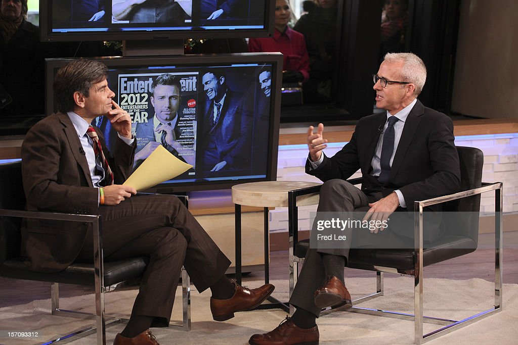 AMERICA - Jess Cagle of 'Entertainment Weekly' appears on 'Good Morning America,' 11/28/12, airing on the ABC Television Network. (Photo by Fred Lee/ABC via Getty Images) GEORGE