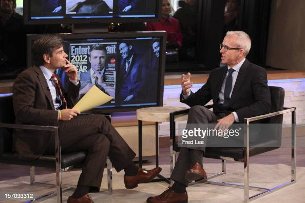 AMERICA Jess Cagle of 'Entertainment Weekly' appears on 'Good Morning America' 11/28/12 airing on the ABC Television Network GEORGE