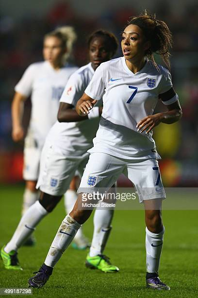 Jess Clarke of England during the UEFA Women's Euro 2017 Qualifier match between England and Bosnia and Herzegovina at Ashton Gate on November 29...