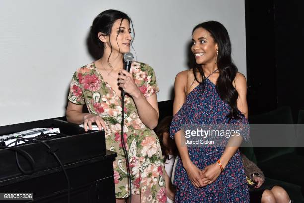 Jess Edelstein and Sarah Ribner attend PiperWai NYC Launch Event at Vnyl on May 24 2017 in New York City