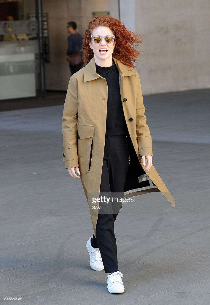 Jess Glynne at BBC Radio 1 on May 24, 2016 in London, England.