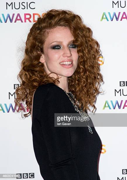 LONDON ENGLAND DECEMBER 11 Jess Glynne attends the BBC Music Awards at Earl's Court Exhibition Centre on December 11 2014 in London England