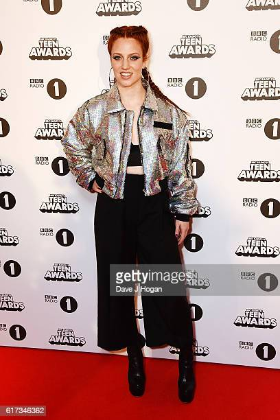 Jess Glynne attends the BBC Radio 1's Teen Awards at SSE Arena Wembley on October 23 2016 in London England