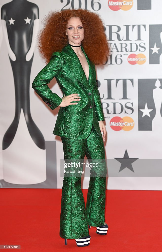 Jess Glynne attends the BRIT Awards 2016 at The O2 Arena on February 24, 2016 in London, England.