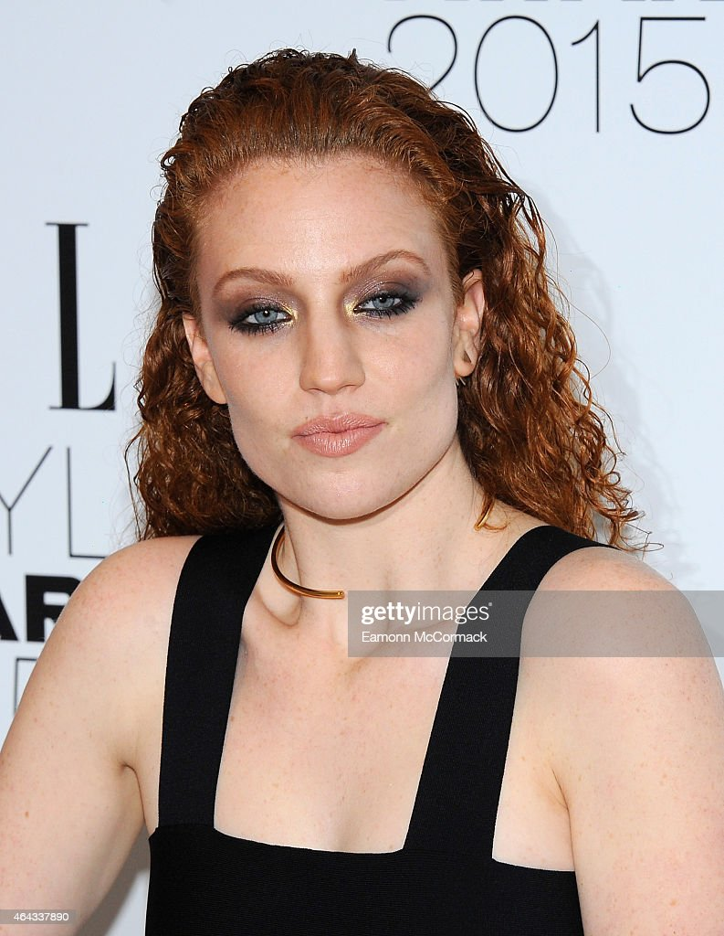 Jess Glynne attends the Elle Style Awards 2015 at Sky Garden @ The Walkie Talkie Tower on February 24, 2015 in London, England.