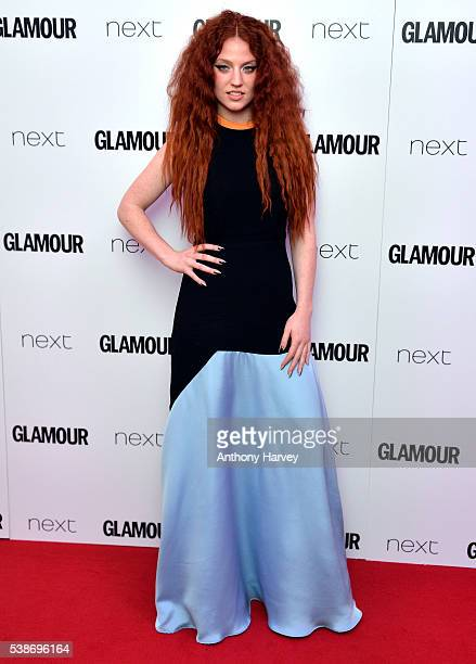 Jess Glynne attends the Glamour Women Of The Year Awards at Berkeley Square Gardens on June 7 2016 in London England