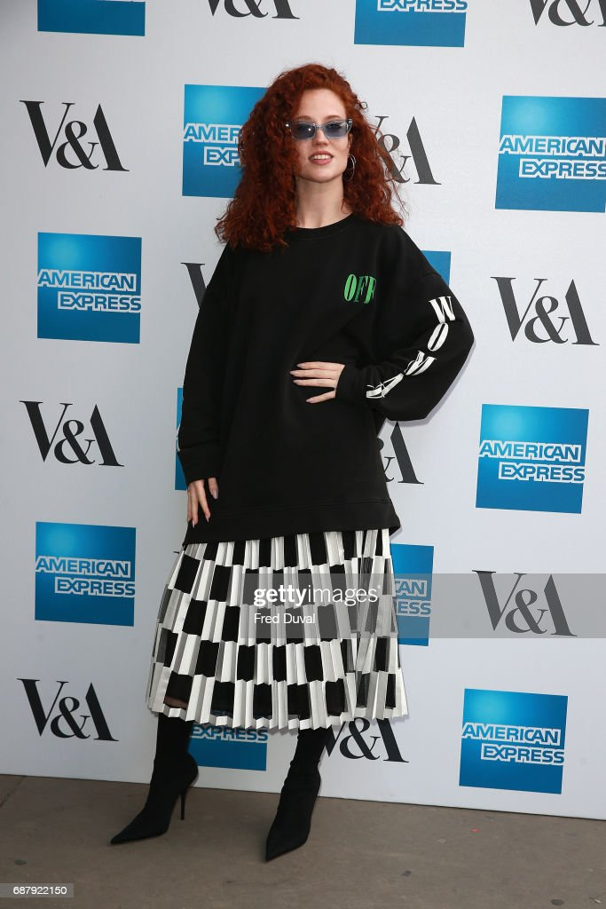 Jess Glynne attends The V&A Opens Spring 2017 Fashion Exhibition Balenciaga: Shaping Fashion at The V&A on May 24, 2017 in London, England.