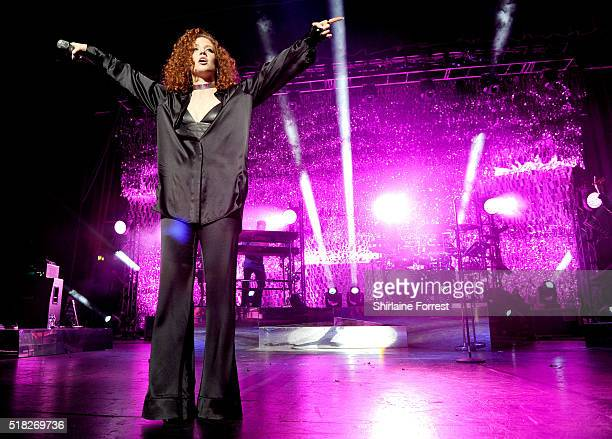 Jess Glynne performs a sold out show at O2 Apollo Manchester on March 30 2016 in Manchester England