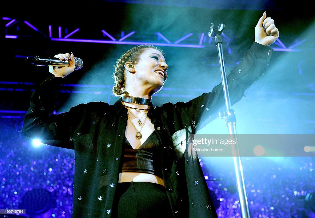 Jess Glynne Performs At The Manchester Academy