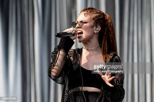 Jess Glynne performs at Powderham Castle on May 28 2016 in Exeter England