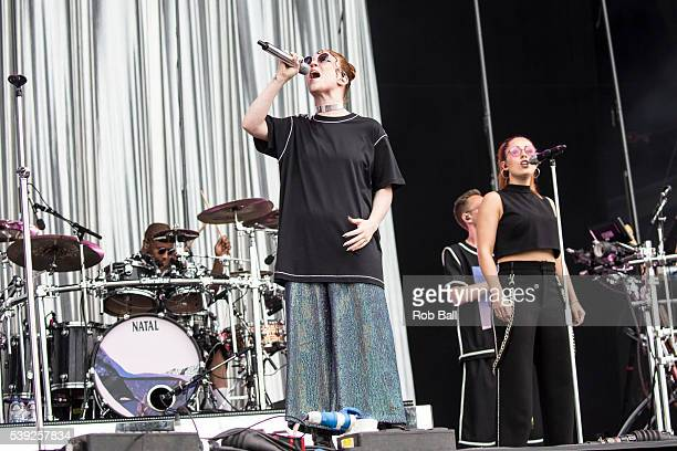 Jess Glynne performs at the Isle Of Wight Festival 2016 at Seaclose Park on June 10 2016 in Newport Isle of Wight