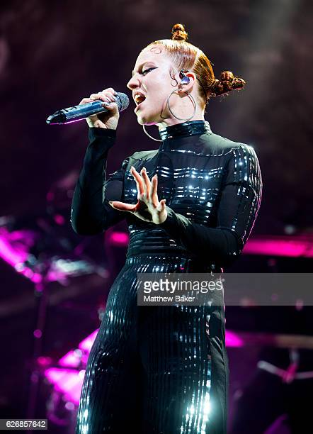 Jess Glynne performs at The O2 Arena on November 30 2016 in London England