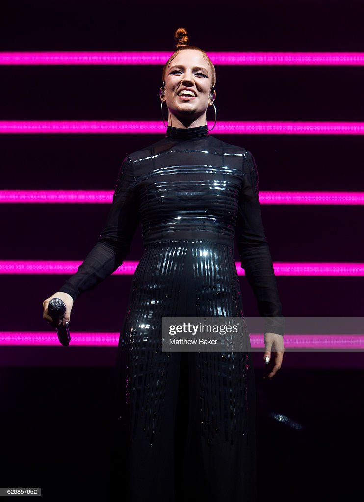 Jess Glynne performs at The O2 Arena on November 30, 2016 in London, England.