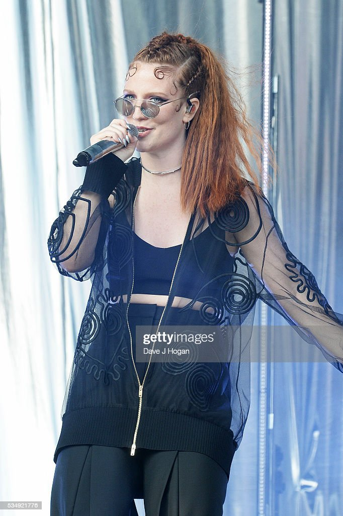 Jess Glynne performs during day 1 of BBC Radio 1's Big Weekend at Powderham Castle on May 28 2016 in Exeter England