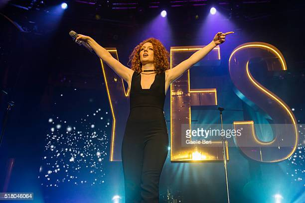 Jess Glynne performs live at The Roundhouse on March 29 2016 in London England