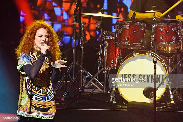 Jess Glynne performs on stage at the iTunes Festival at The Roundhouse on September 20 2014 in London United Kingdom