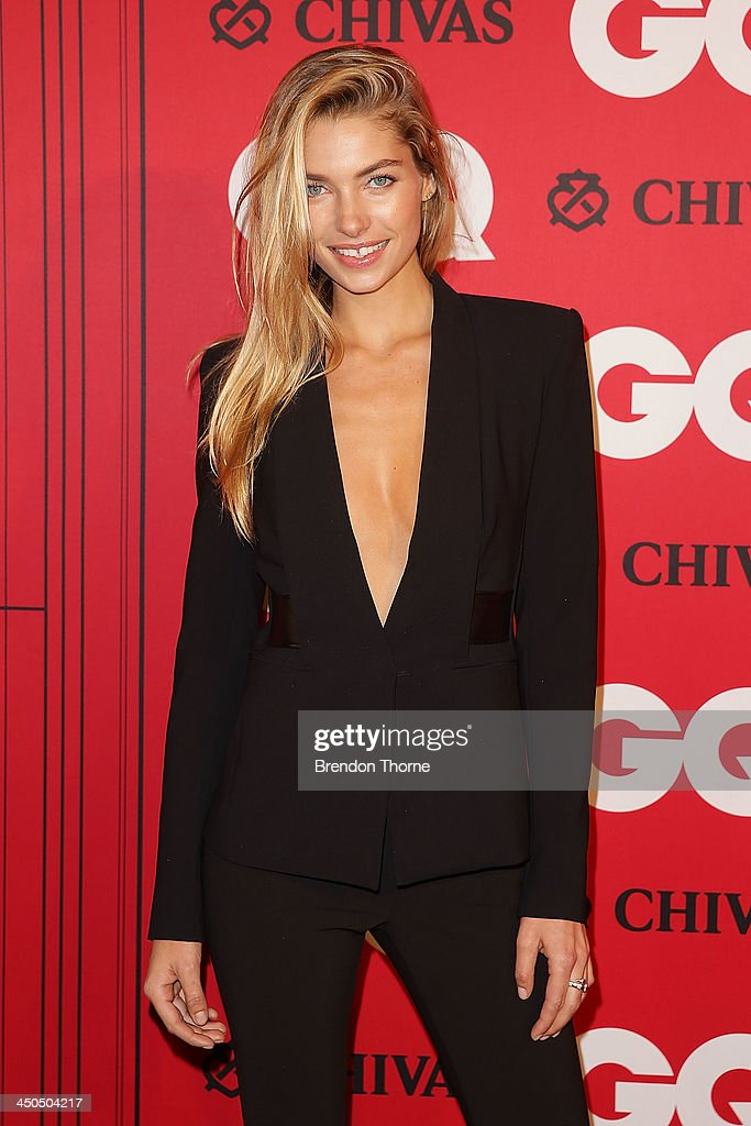 Jess Hart arrives at the GQ Men of the Year awards at the Ivy Ballroom on November 19, 2013 in Sydney, Australia.