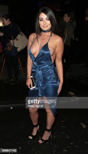 Jess Hayes attends Sixty6 Magazine issue two launch party at Paper club on March 22 2017 in London England