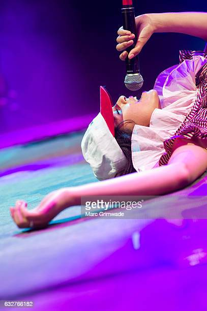 Jess Kent performs at St Jerome's Laneway Festival on January 26 2017 in Brisbane