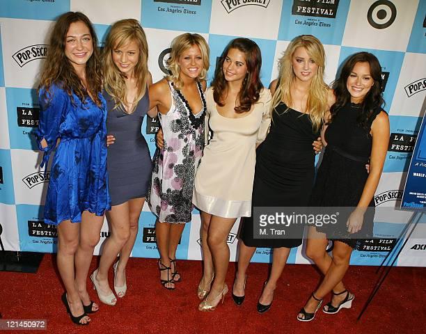 Jess Manafort Brie Larson Katrina Begin Lyndsy Fonseca Amber Heard and Leighton Meester