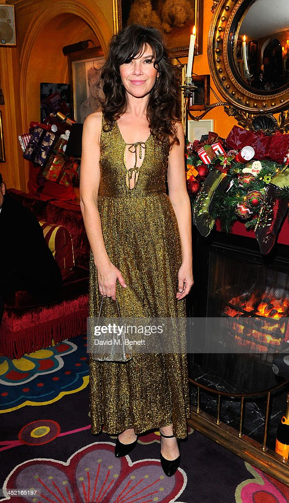 Jess Morris attends Veuve Clicquot Style Party at Annabel's on November 26, 2013 in London, England.