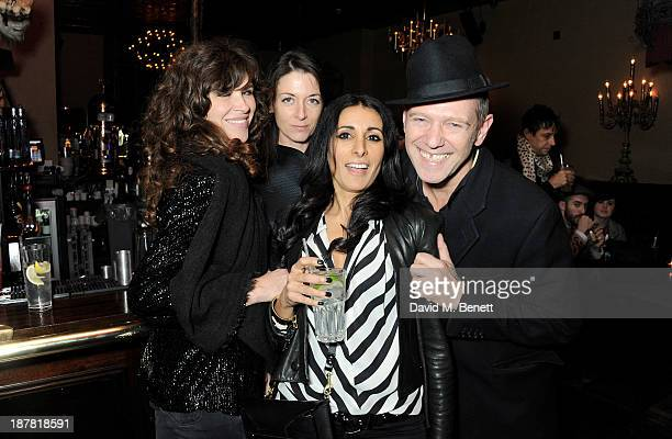 Jess Morris Mary McCartney Serena Rees and Paul Simonon attend #VauxhallPresents Made in England by Katy England screening hosted by Vauxhall Motors...