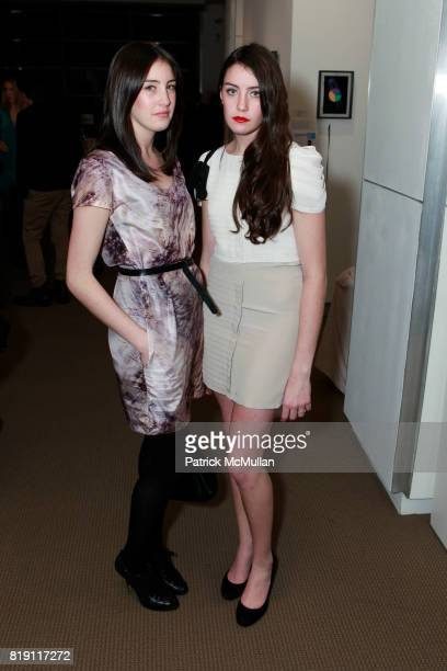 Jess Ragolia and Jacqueline Ragolia attend TOOLS FOR THOUGHT REBUILD HAITI With Special Performance By PATTI SMITH at Sotheby's on March 15 2010 in...