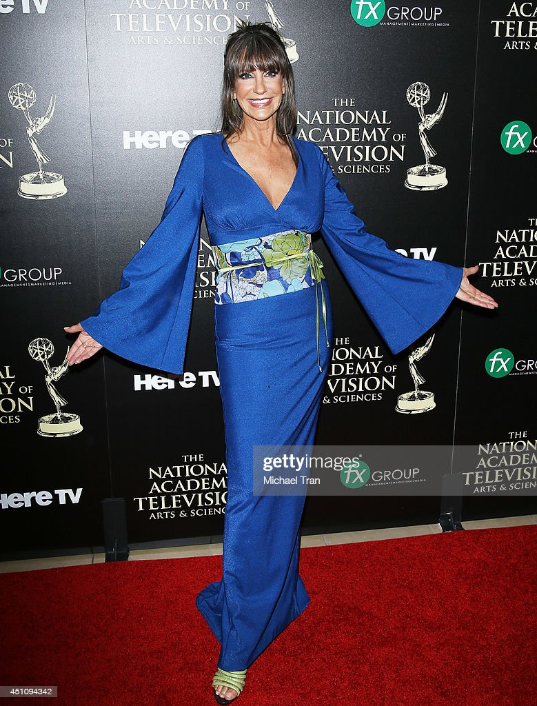 <a gi-track='captionPersonalityLinkClicked' href=/galleries/search?phrase=Jess+Walton&family=editorial&specificpeople=243212 ng-click='$event.stopPropagation()'>Jess Walton</a> arrives at the 41st Annual Daytime Emmy Awards held at The Beverly Hilton Hotel on June 22, 2014 in Beverly Hills, California.