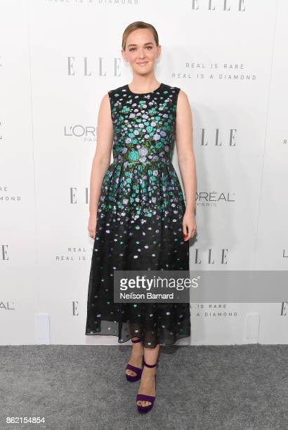 Jess Weixler attends ELLE's 24th Annual Women in Hollywood Celebration presented by L'Oreal Paris Real Is Rare Real Is A Diamond and CALVIN KLEIN at...