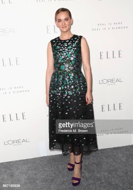 Jess Weixler attends ELLE's 24th Annual Women in Hollywood Celebration at Four Seasons Hotel Los Angeles at Beverly Hills on October 16 2017 in Los...