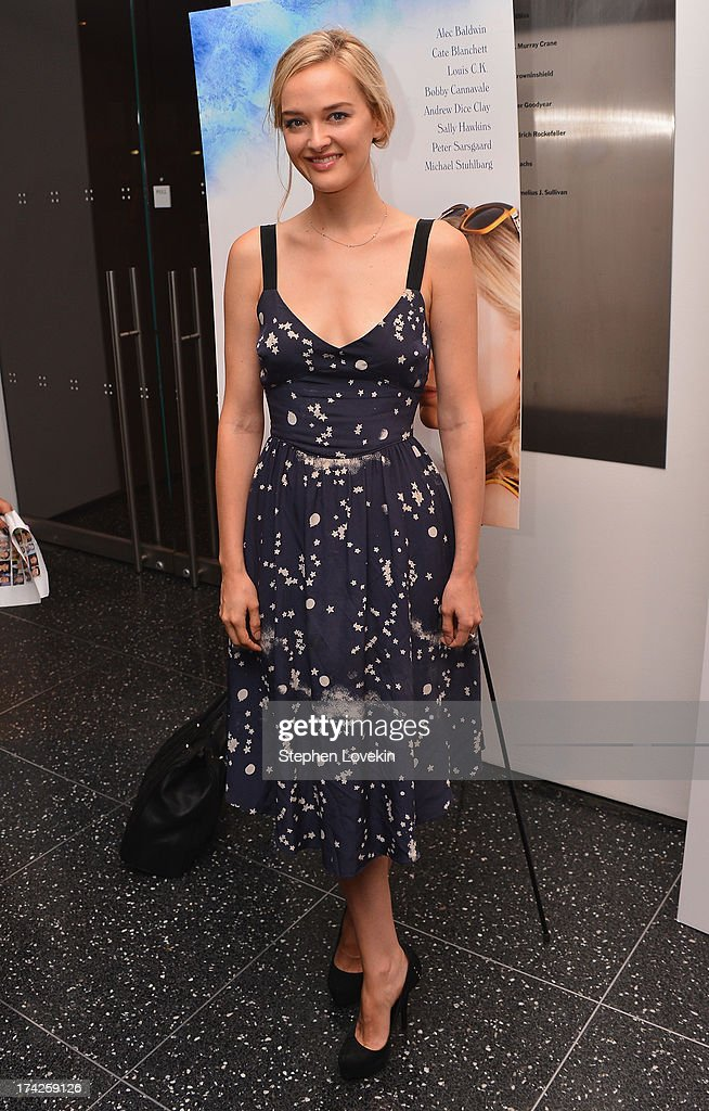 Jess Weixler attends the 'Blue Jasmine' New York Premiere at the Museum of Modern Art on July 22, 2013 in New York City.
