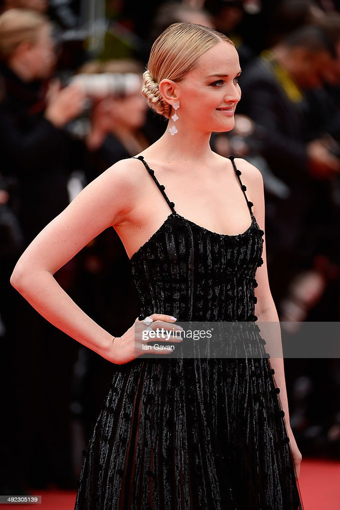 Jess Weixler attends the 'Foxcatcher' premiere during the 67th Annual Cannes Film Festival on May 19, 2014 in Cannes, France.