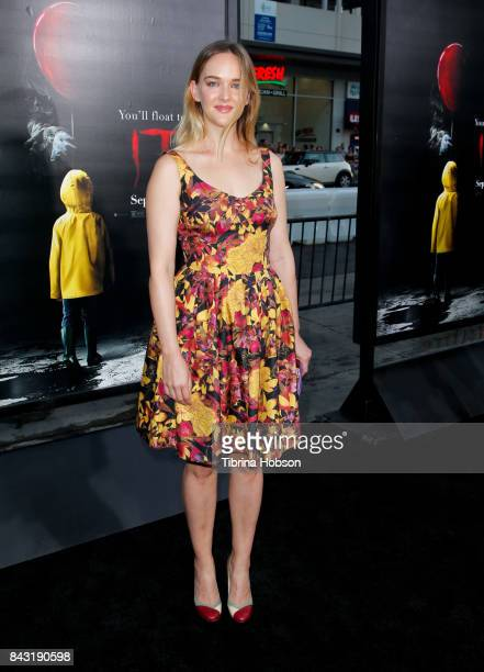 Jess Weixler attends the premiere of 'It' at TCL Chinese Theatre on September 5 2017 in Hollywood California