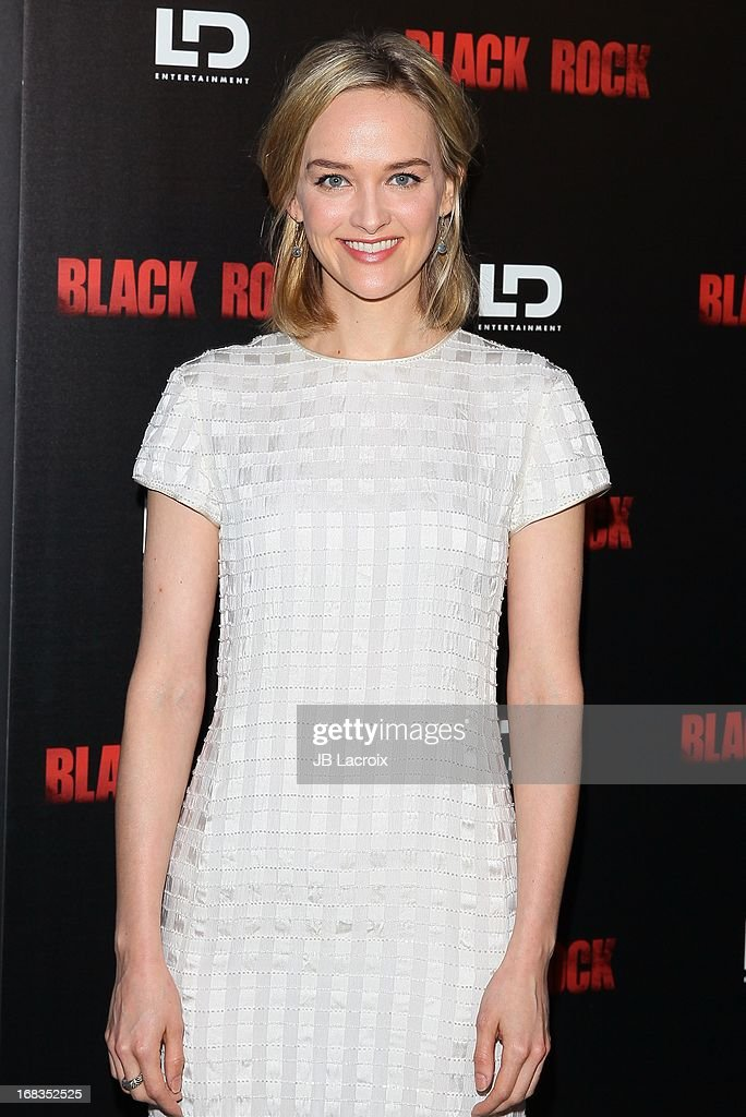 Jess Wexler attends the 'Black Rock' Premiere held at ArcLight Hollywood on May 8, 2013 in Hollywood, California.