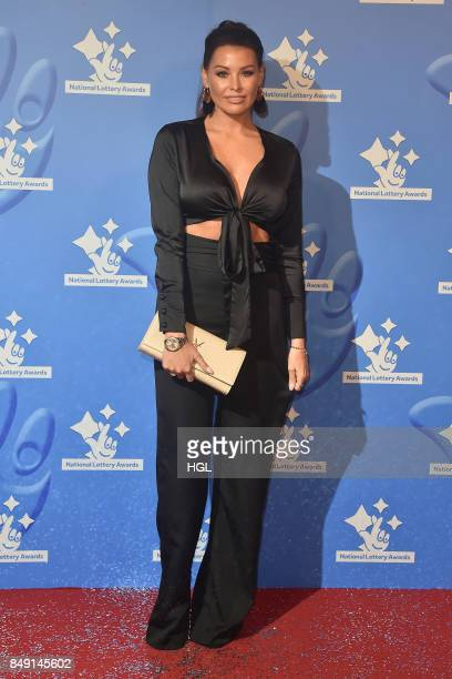 Jess Wright arriving at The National Lottery Awards 2017 at The London Studios on September 18 2017 in London England