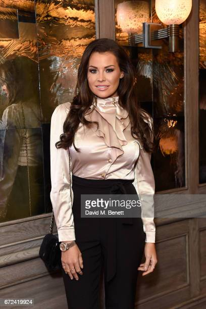 Jess Wright attends the VIP dinner to celebrate Urban Decay's arrival at Selfridges London on April 24 2017 in London England