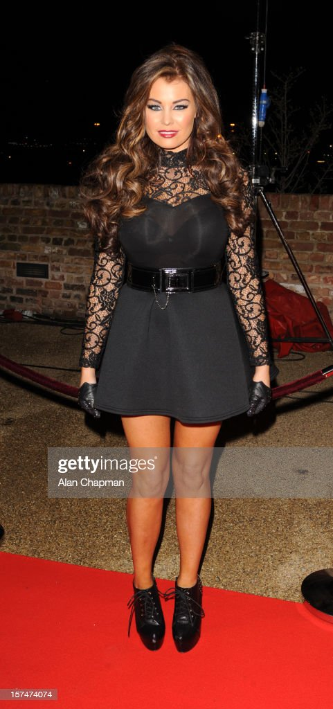 Jess Wright sighting at TOWIE live on December 3, 2012 in London, England.