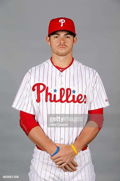 Jesse Biddle of the Philadelphia Phillies poses during Photo Day on Friday February 27 2015 at Bright House Field in Clearwater Florida