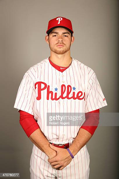 Jesse Biddle of the Philadelphia Phillies poses during Photo Day on Wednesday February 19 2014 at Bright House Field in Clearwater Florida