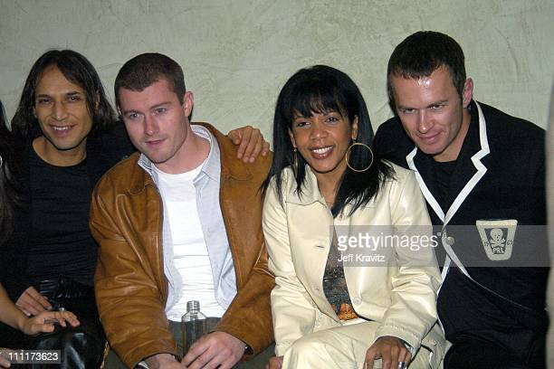 Jesse Borrego James Badge Dale and Penny Johnson Jerald from The Cast of TV hit series '24' *Exclusive*