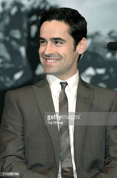 Jesse Bradford during 'Flags of Our Fathers' Tokyo Press Conference at Roppongi Academy Hills in Tokyo Japan