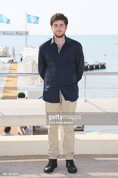 Jesse Carere attends 'Between' photocall as part of MIPCOM 2015 on La Croisette on October 5 2015 in Cannes France