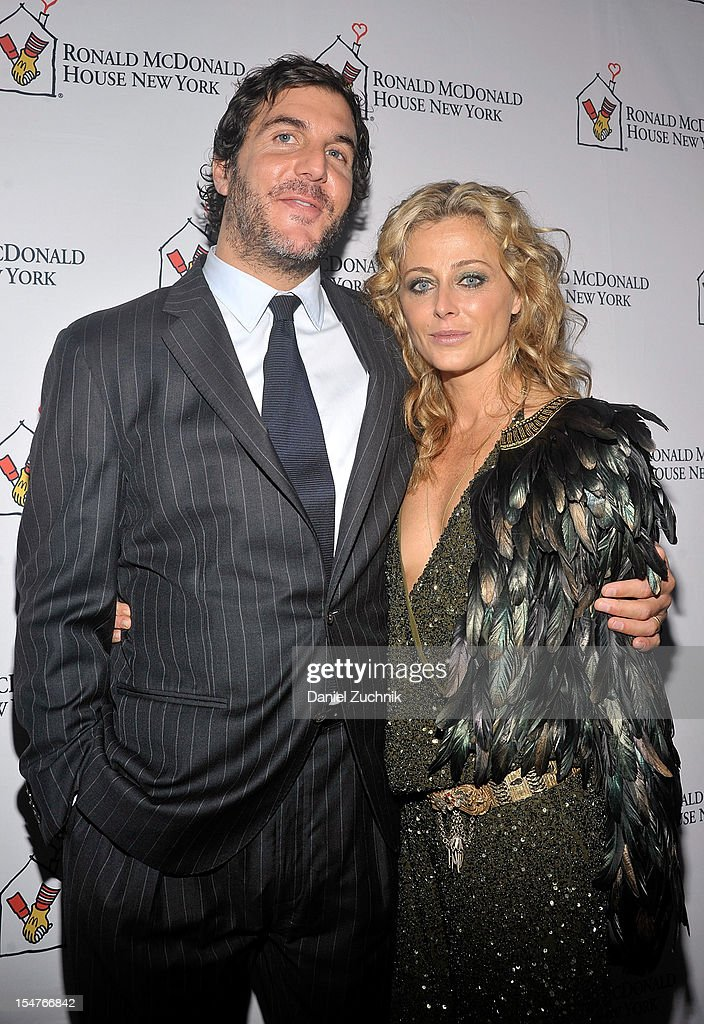 Jesse Cole and Trish Wescoat Pound attend the Masquerade Ball Benefiting Ronald McDonald House at Apella on October 25, 2012 in New York City.