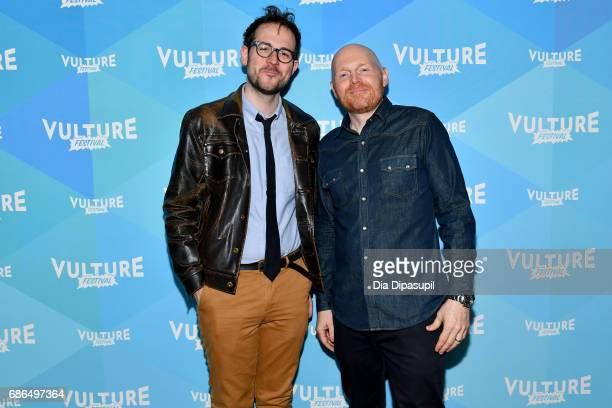 Jesse David Fox and Bill Burr attend the 2017 Vulture Festival at Milk Studios on May 21 2017 in New York City