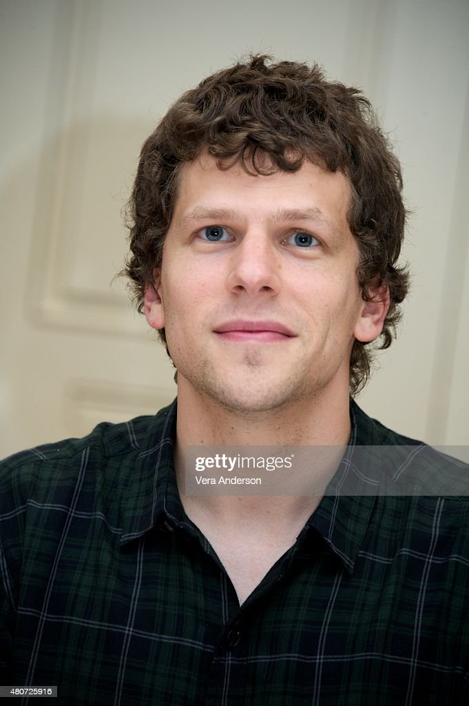 Jesse Eisenberg at 'The End Of The Tour' Press Conference at the Four...