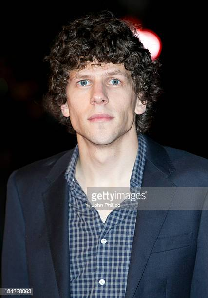 Jesse Eisenberg attends a screening of 'The Double' during the 57th BFI London Film Festival at Odeon West End on October 12 2013 in London England